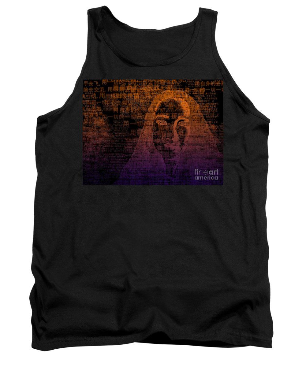 Tank Top featuring the digital art Untitled by Fei A