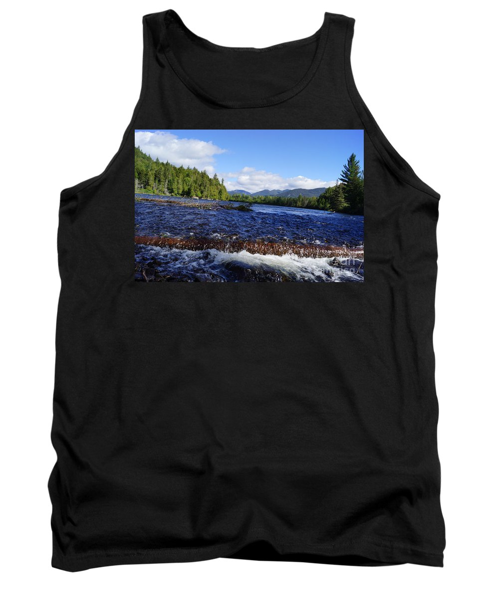 Rivers Tank Top featuring the photograph Upper Hudson River by Jeffery L Bowers