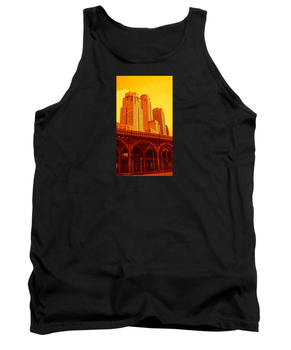 Manhattan Prints And Posters Tank Top featuring the photograph Upper West Side And Hudson River Manhattan by Monique's Fine Art