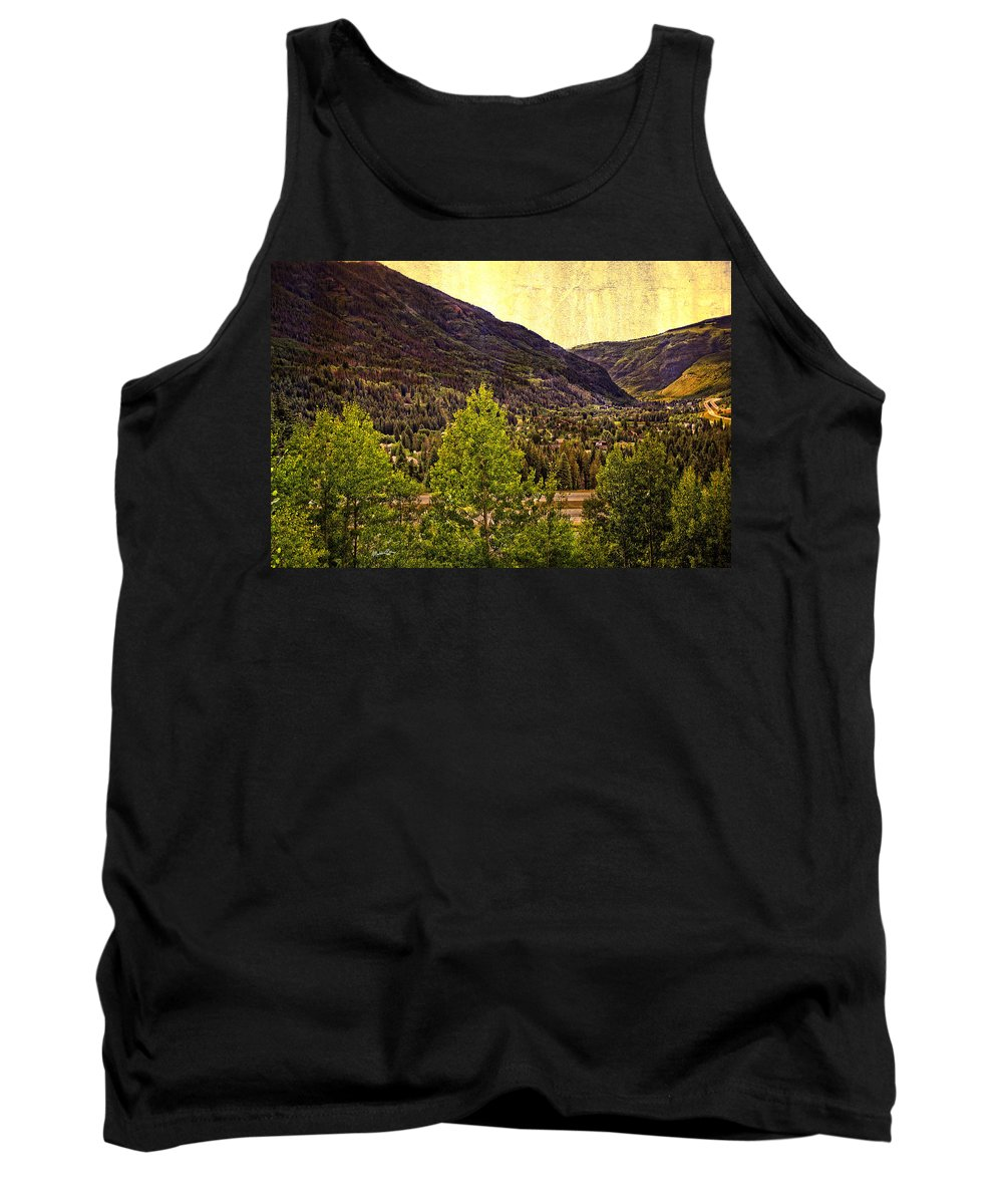 Vail Colorado Tank Top featuring the photograph Vail Vista 2 by Madeline Ellis