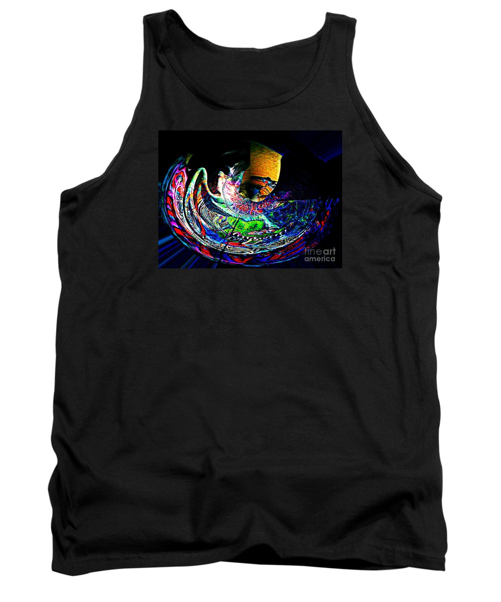 Tank Top featuring the photograph Vato De Raton In Polar Transformation by Kelly Awad