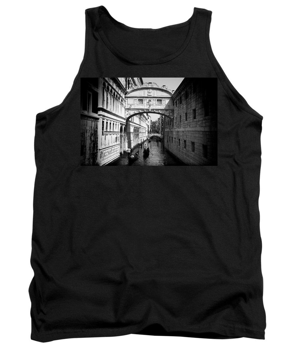 Venice Tank Top featuring the photograph Venetian Classic Bridge by David Resnikoff