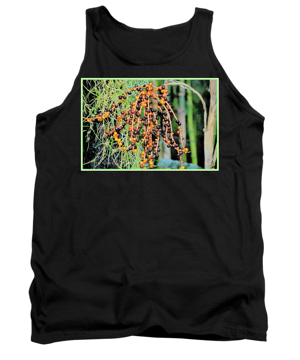 Lively Berries Tank Top featuring the photograph Vibrant Berries by Sonali Gangane