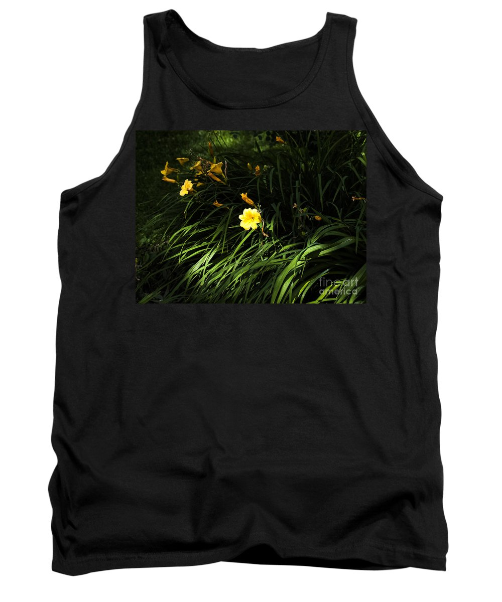Lily Tank Top featuring the photograph Victoria Park-7 by David Fabian