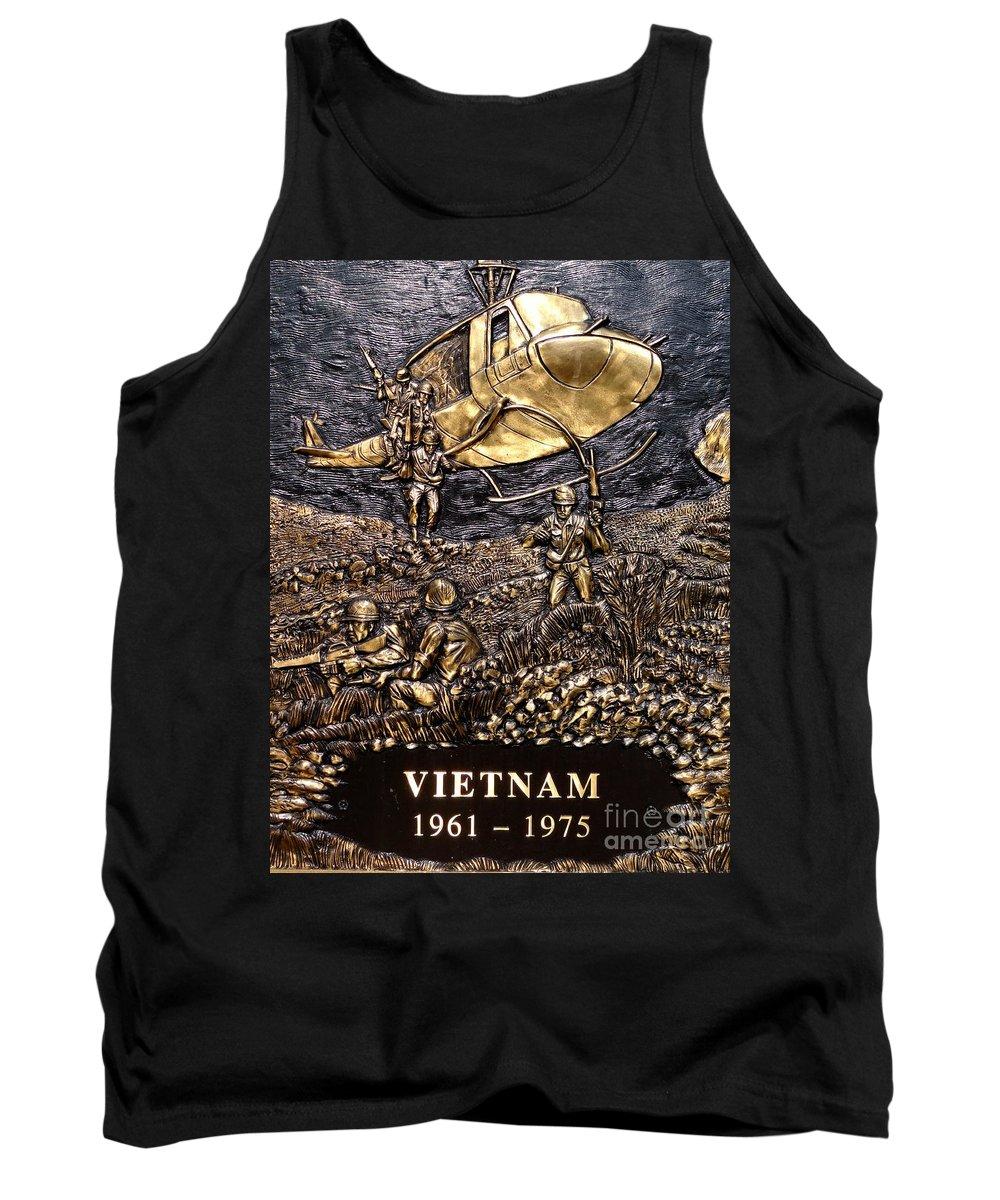 Vietnam Tank Top featuring the photograph Vietnam 1961-1975 by Ed Weidman