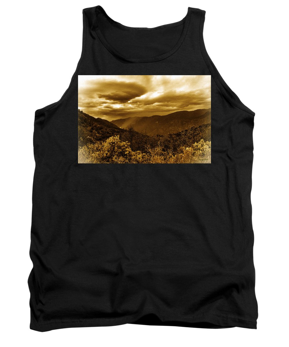 Vintage Tank Top featuring the photograph Vintage Weather by Angela Stanton