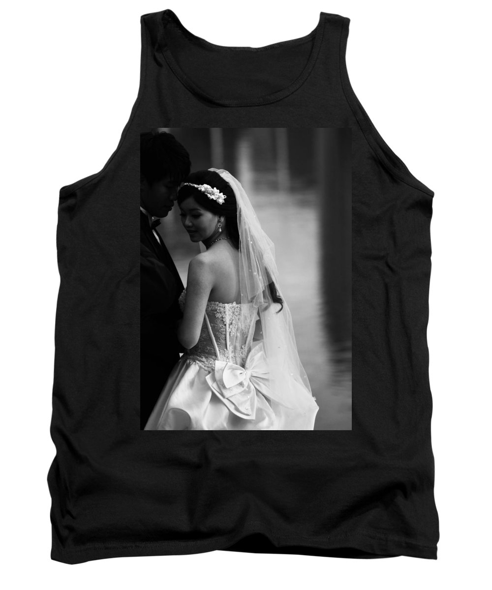 Vancouver Tank Top featuring the photograph Vows That Turn by The Artist Project