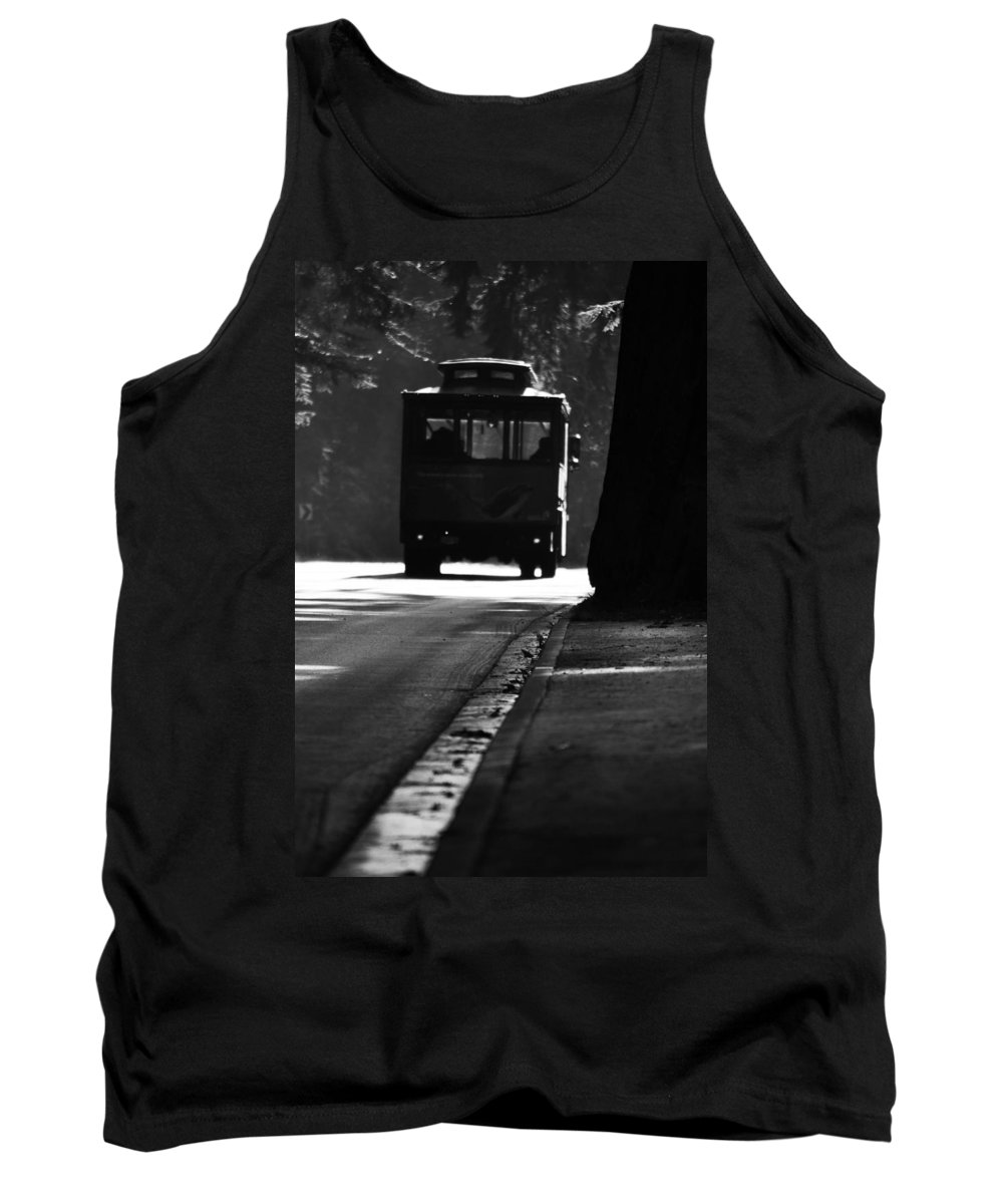 Street Photographer Tank Top featuring the photograph Waiting For Charlie by The Artist Project