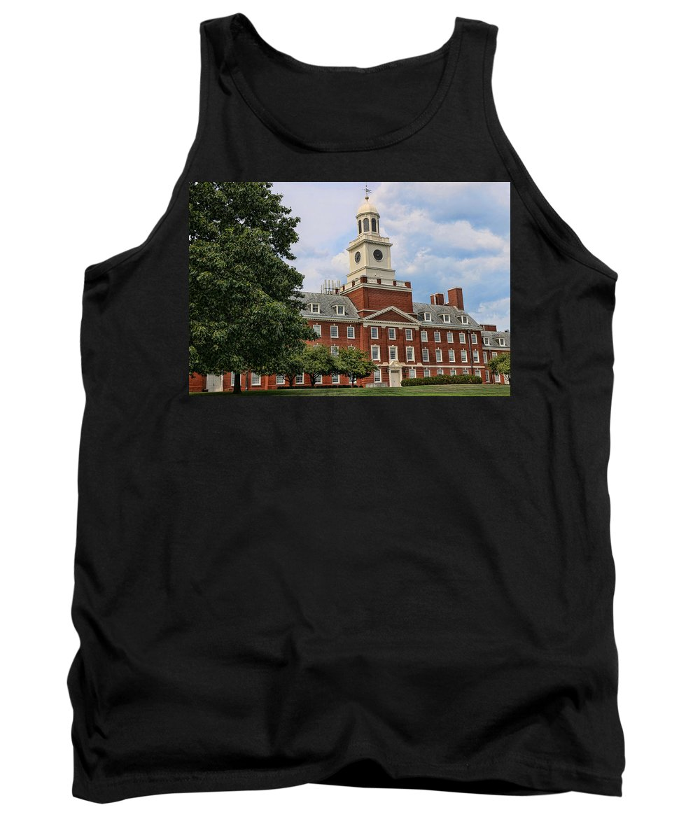Rutgers Tank Top featuring the photograph The Waksman Institute Of Microbiology 2 by Allen Beatty