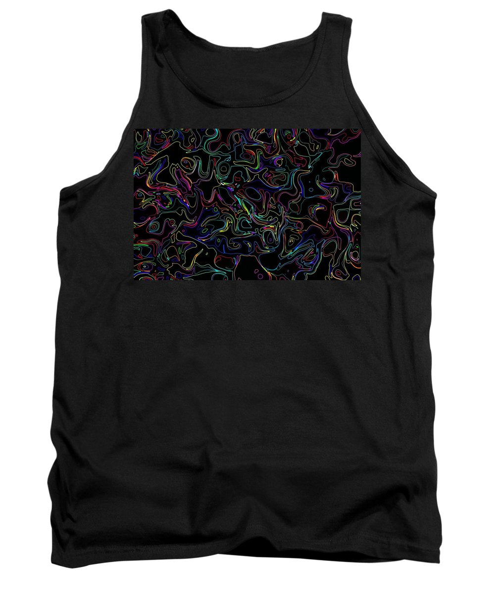 Neon Tank Top featuring the photograph Waltz In C Flat Minor 6 by Mark Blauhoefer