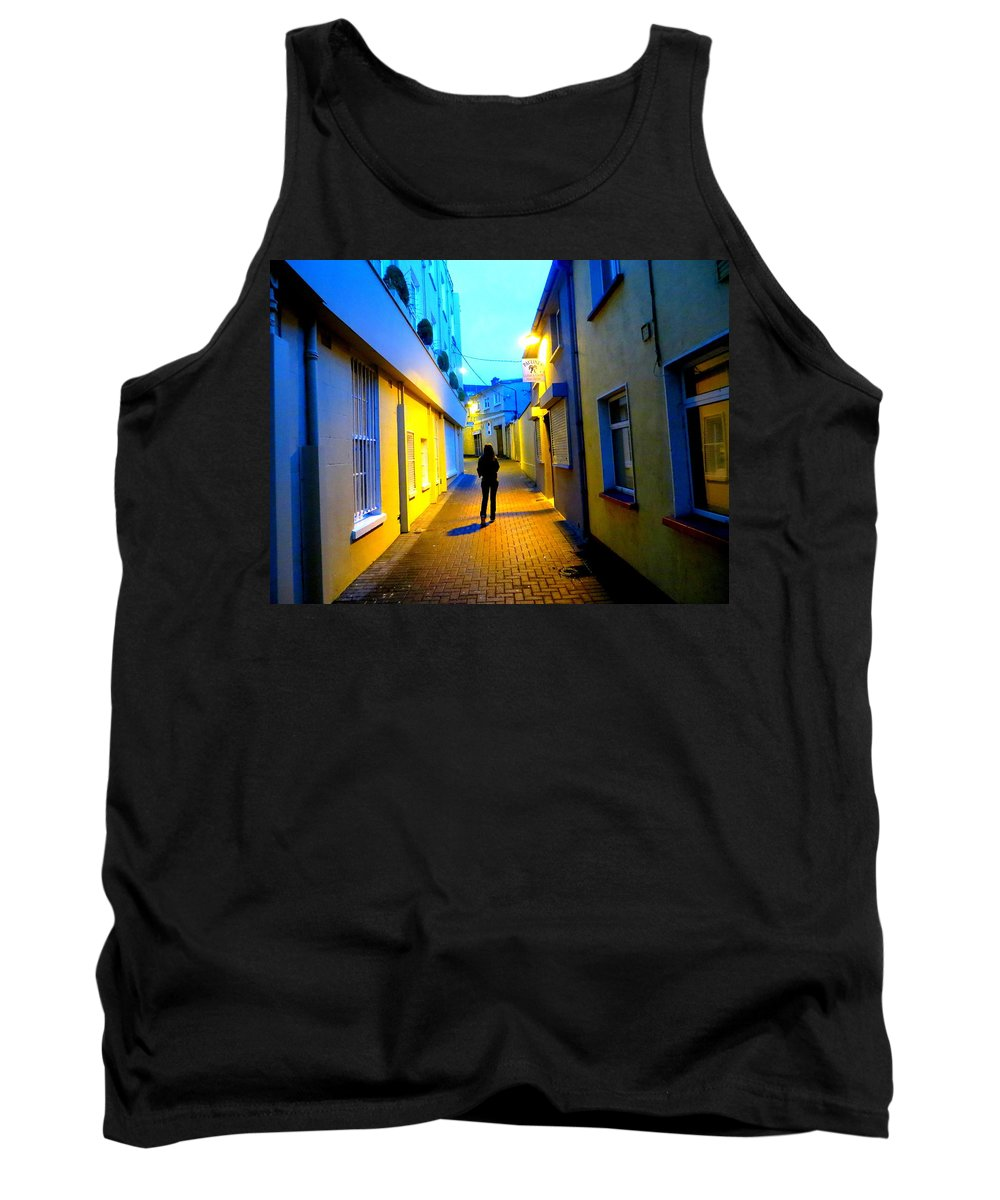Woman Tank Top featuring the photograph Wandering Woman by Joshua Gooding