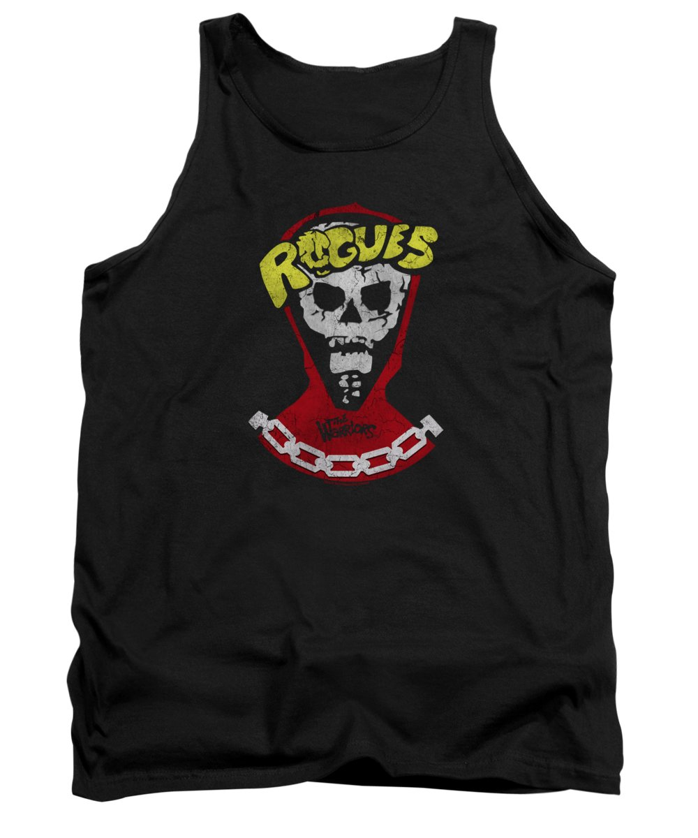 The Warriors Tank Top featuring the digital art Warriors - The Rogues by Brand A