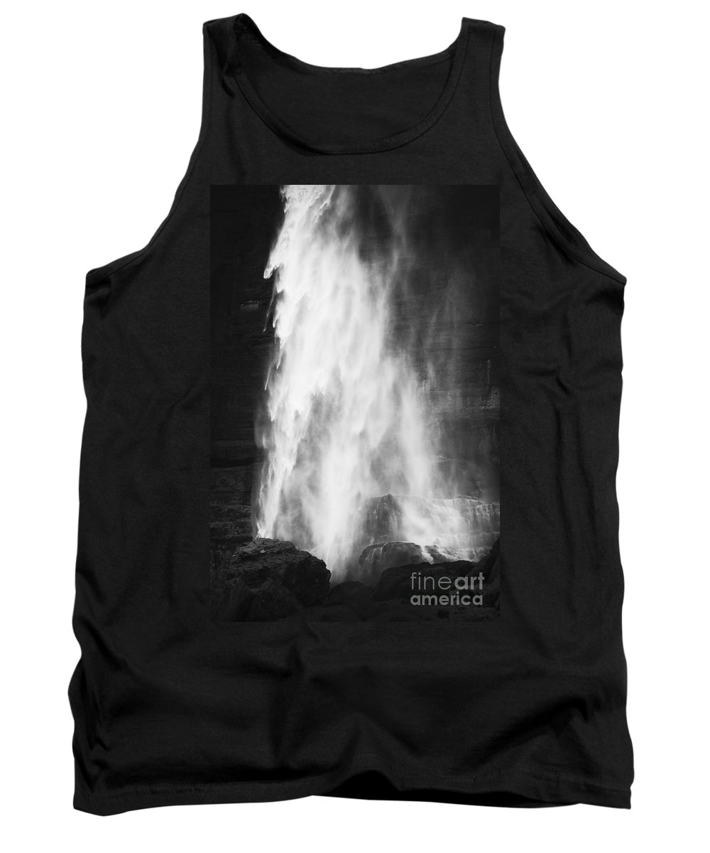 Colorado Tank Top featuring the photograph Water As It Falls by Beth Riser