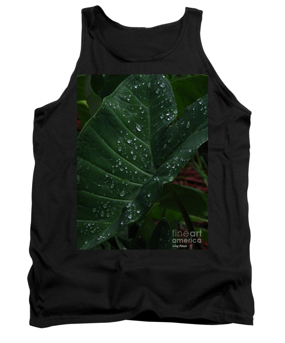 Patzer Tank Top featuring the photograph Water In My Ear by Greg Patzer