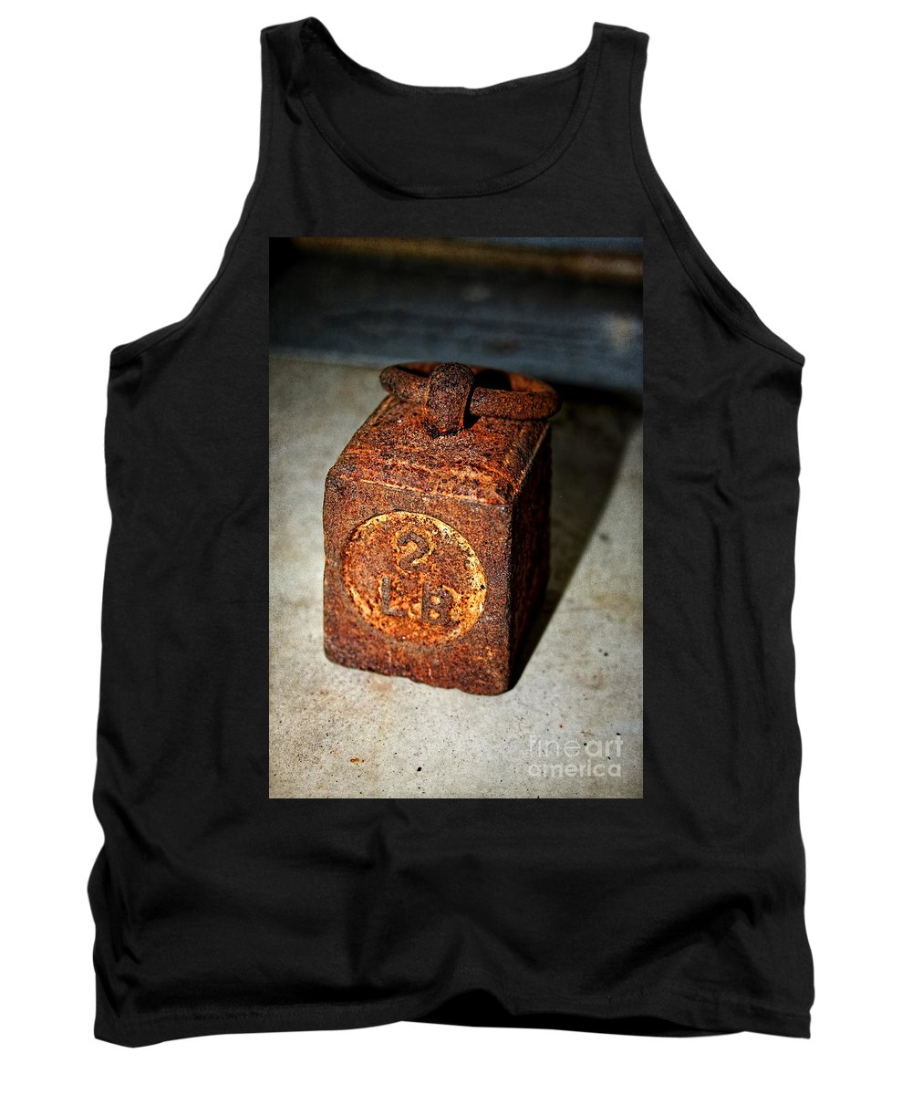Weighing Tank Top featuring the photograph Weighing It Up by Gillian Singleton