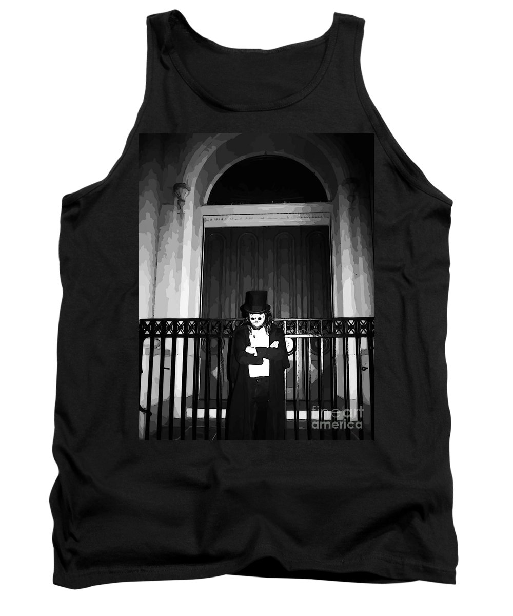Welcome To Night In New Orleans Tank Top featuring the photograph Welcome To Night In New Orleans by John Malone