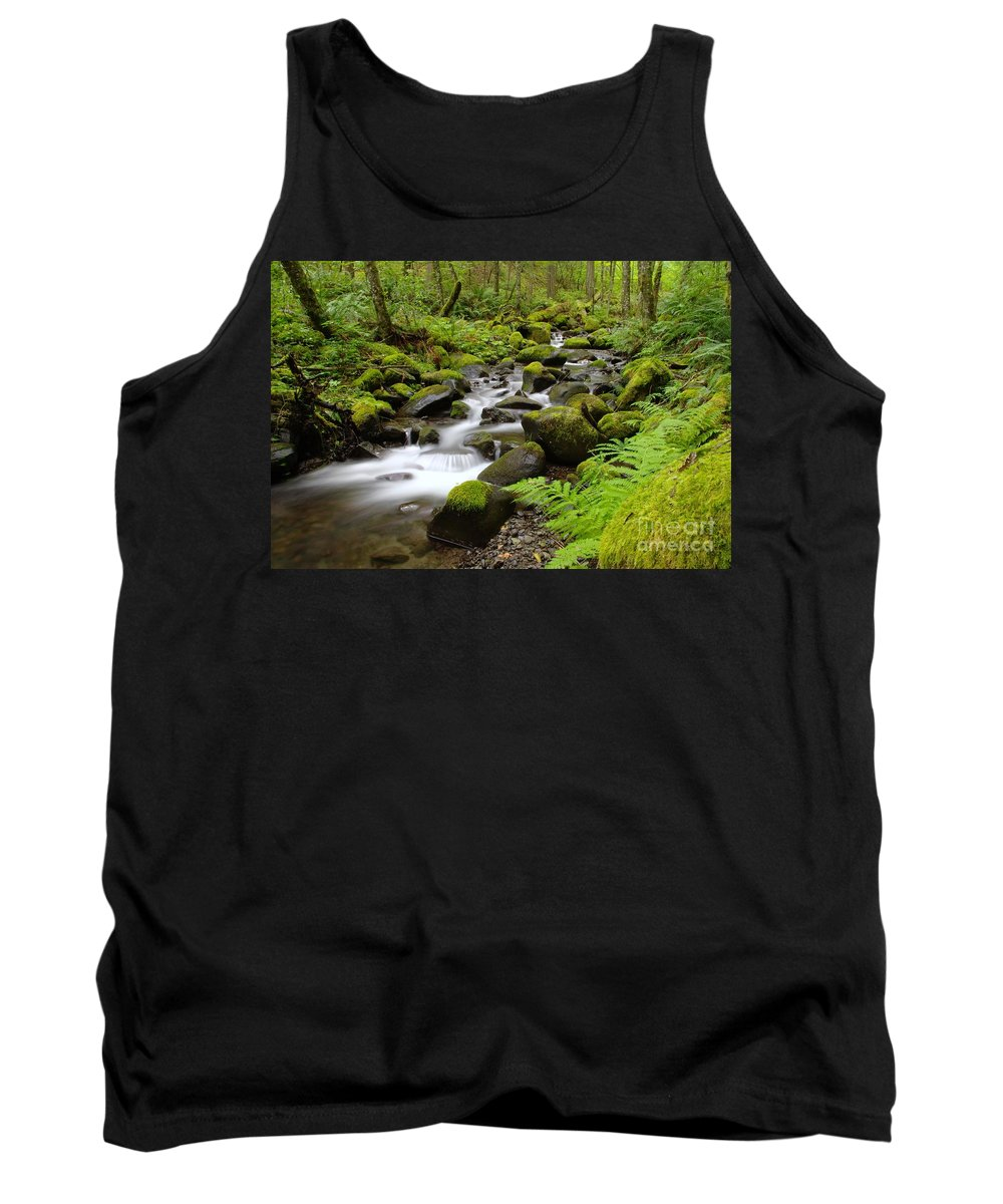 Water Tank Top featuring the photograph Where The Song Flows Into A Dream by Jeff Swan