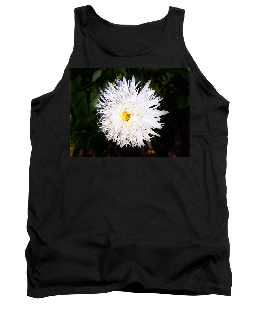 4x3 Tank Top featuring the photograph White Beauty by Omaste Witkowski