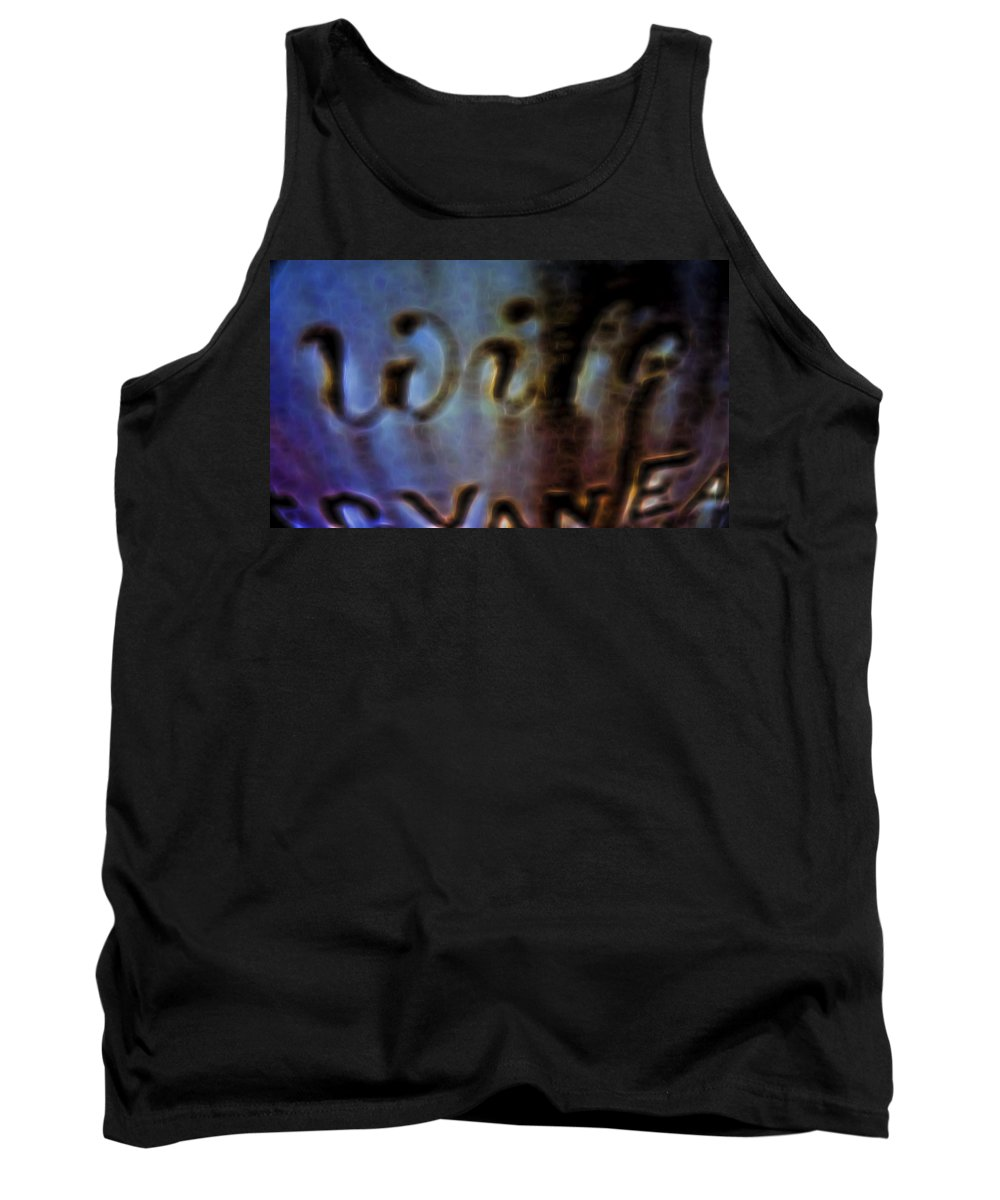 Tank Top featuring the digital art Wife by Cathy Anderson