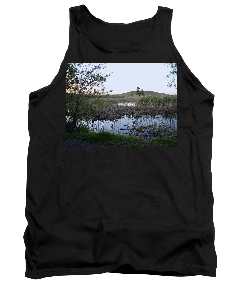 Ponds Tank Top featuring the photograph Wild Wetland by Daniel Hagerman
