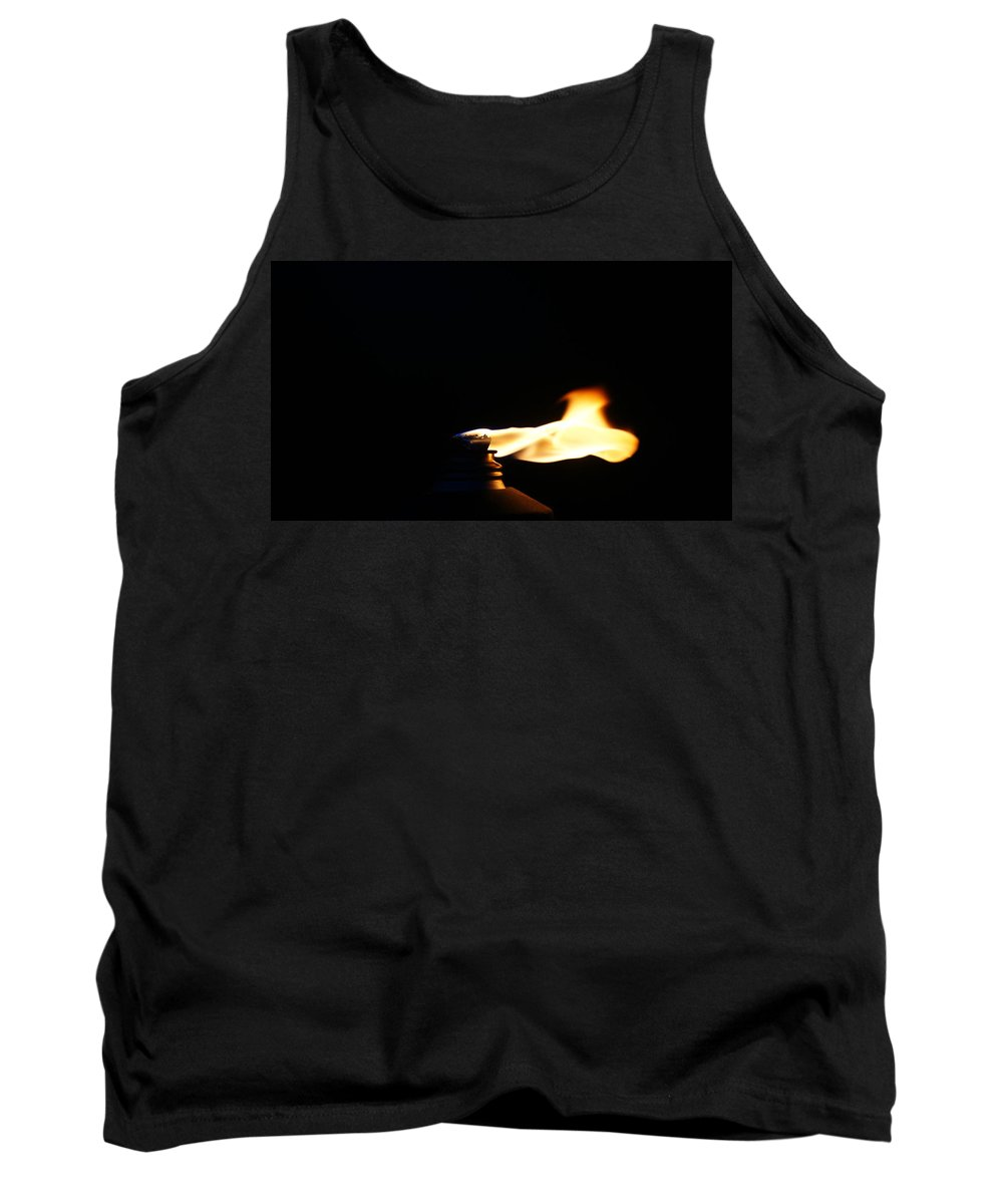 Fire Tank Top featuring the photograph Wind by Crystal Harman