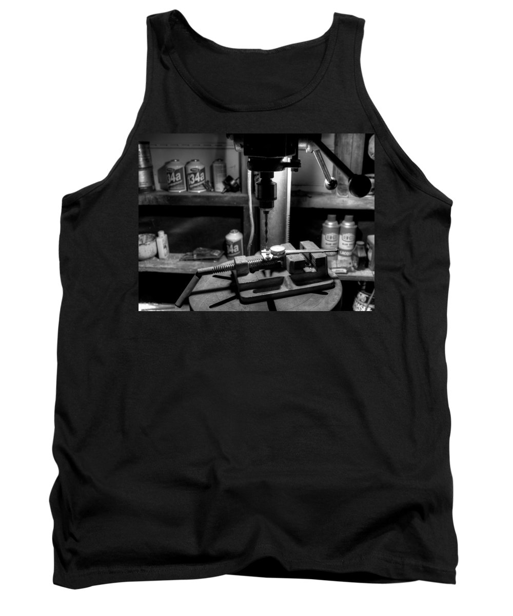 Workspace Tank Top featuring the photograph Work Space by David Dufresne