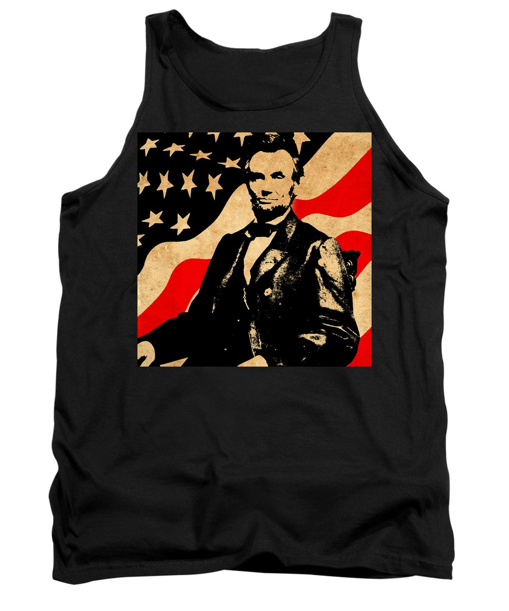 Lincoln Tank Top featuring the photograph World Leaders 4 by Andrew Fare