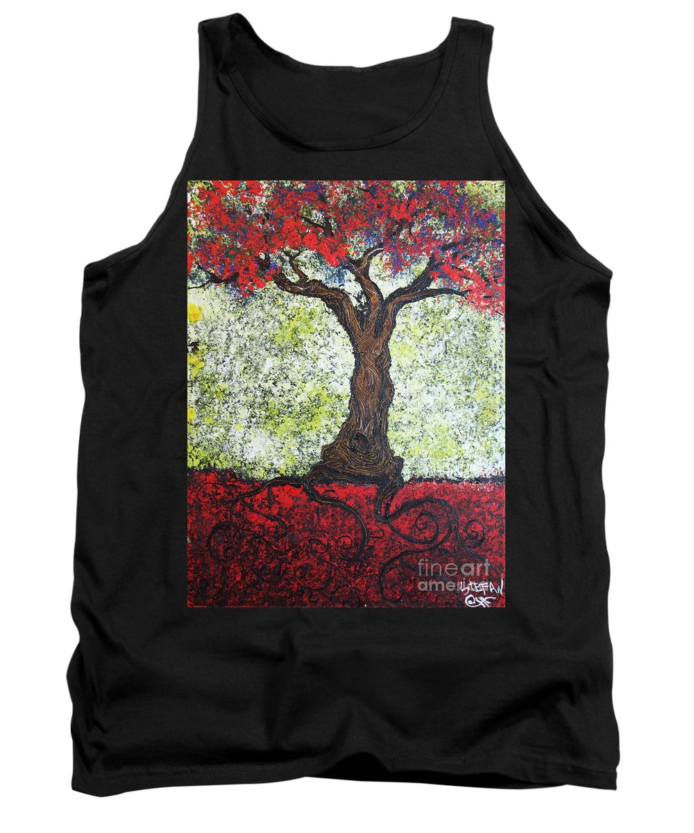 Impressionism Tank Top featuring the painting Would She by Stefan Duncan