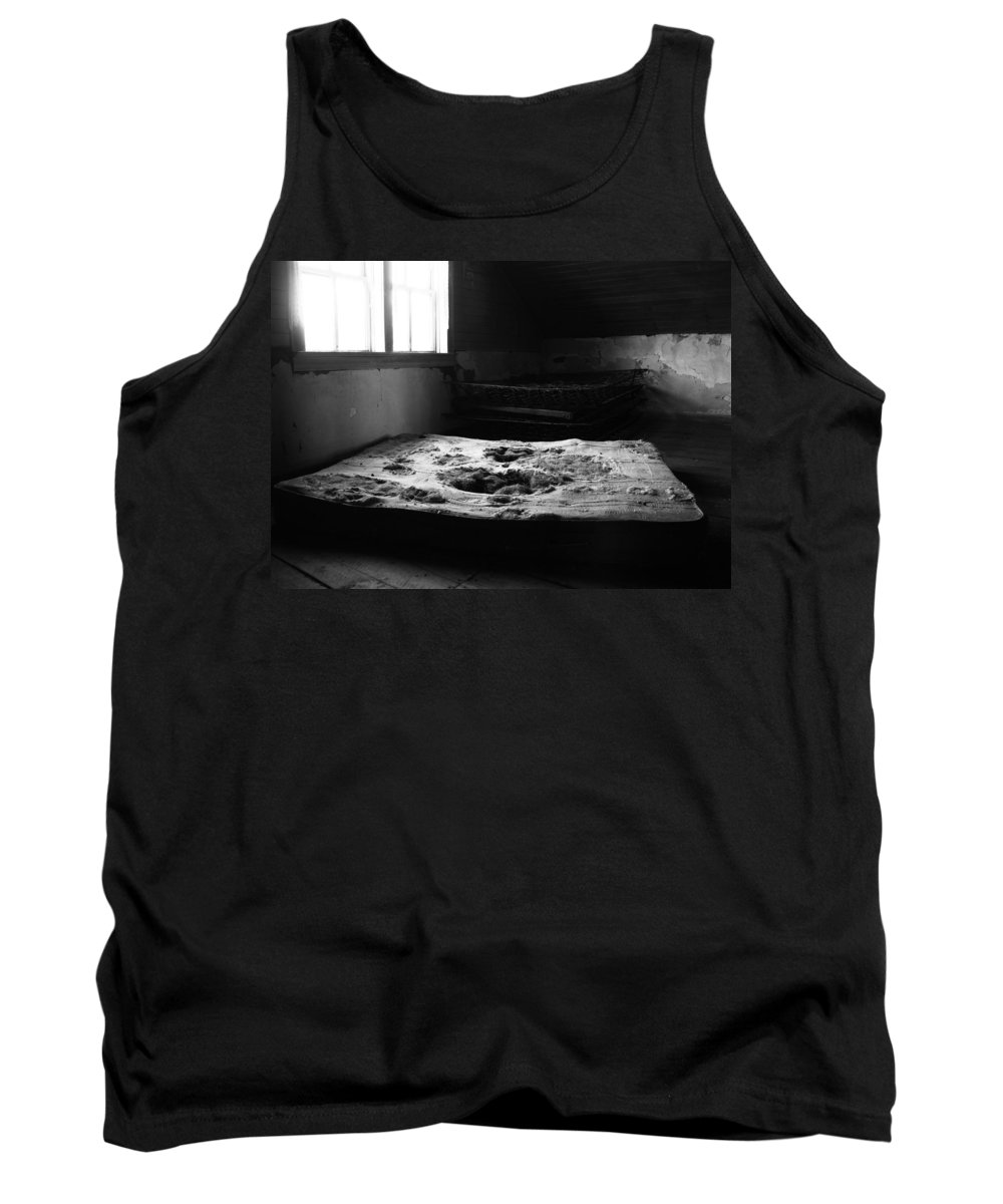 Bed Room Tank Top featuring the photograph Wounded Sleeps by The Artist Project