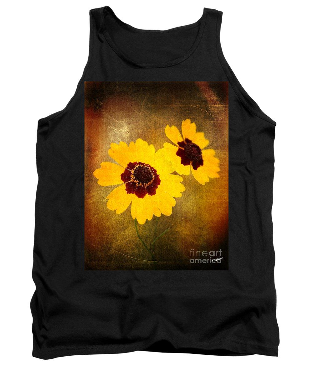 Flower Tank Top featuring the photograph Yellow Prize by Scott Pellegrin