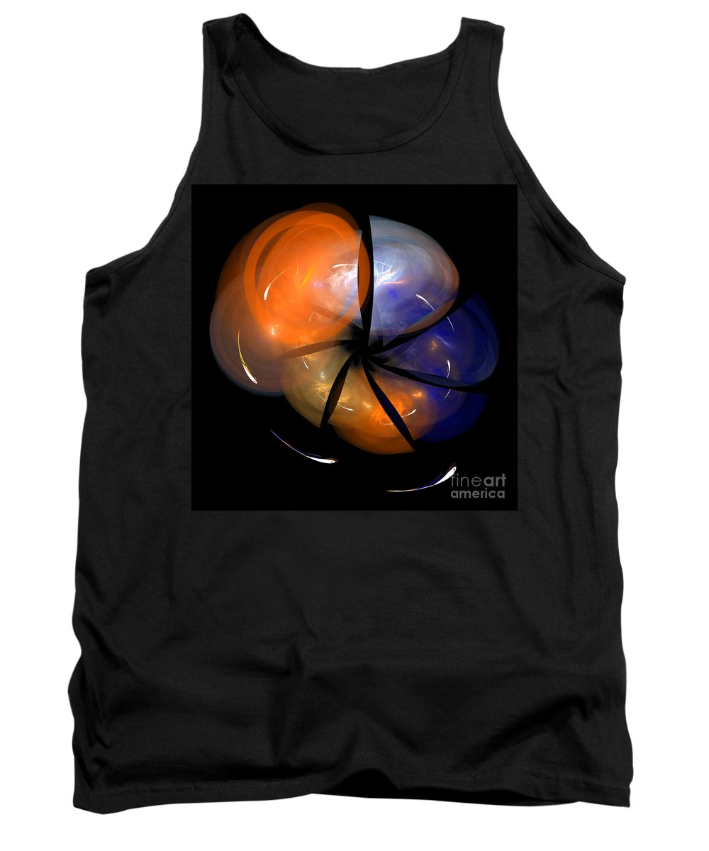 Fractal Digital Art Tank Top featuring the photograph Abstract Eighty-eight by Mike Nellums