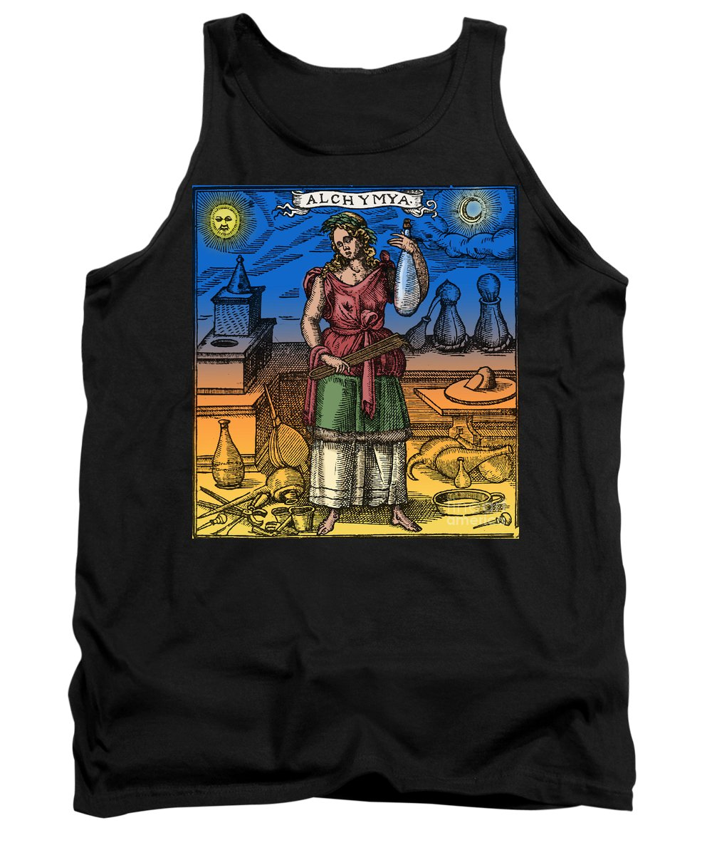 Colorized Tank Top featuring the photograph Alchemy by Science Source