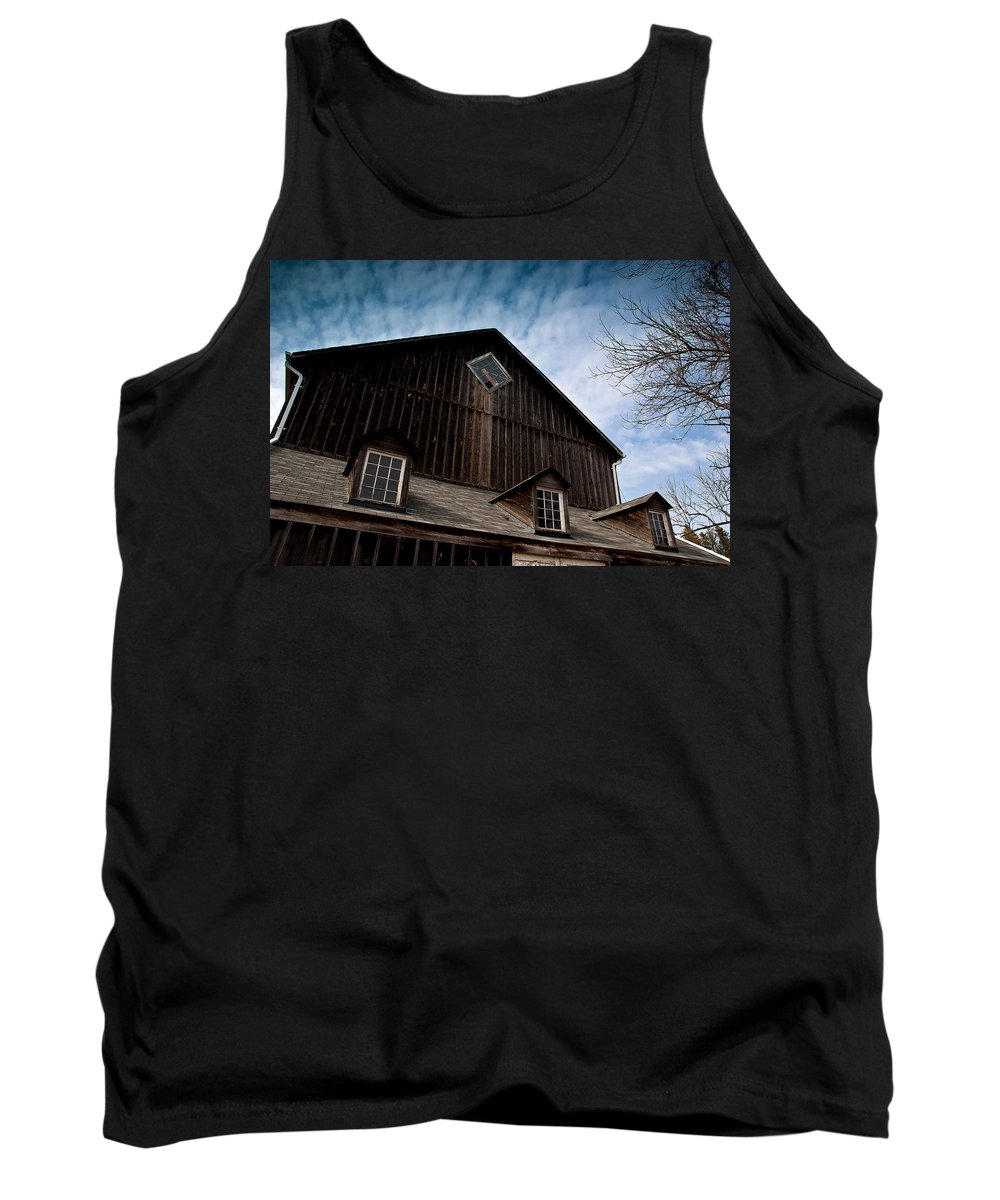 Barn Tank Top featuring the photograph Barn by Cale Best