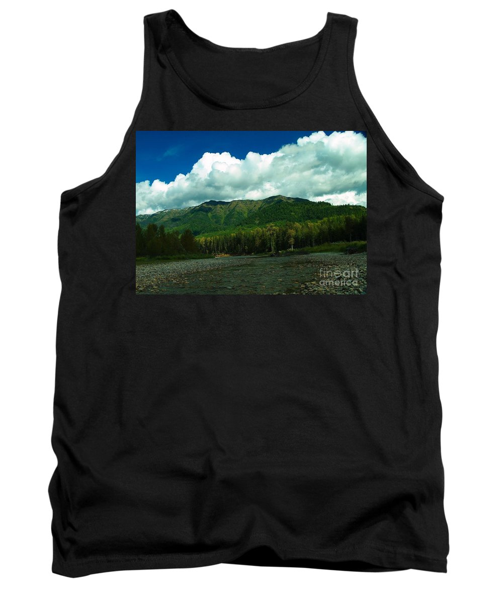 Scenic Tank Top featuring the photograph Fernie British Columbia by Jeff Swan