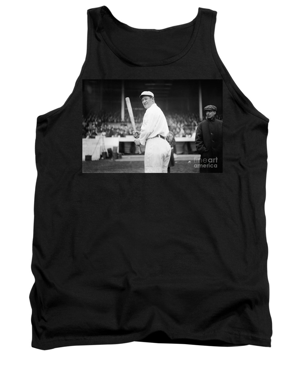 1918 Tank Top featuring the photograph Jim Thorpe (1888-1953) by Granger