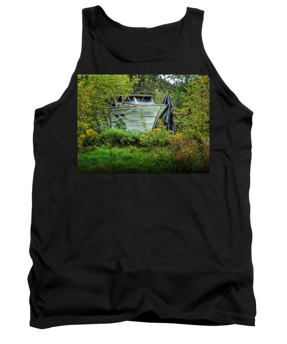 Xdop Tank Top featuring the photograph Love Lost by John Herzog