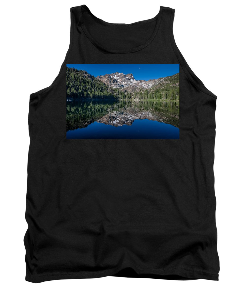 Sierra Tank Top featuring the photograph Lower Sardine Lake by Greg Nyquist