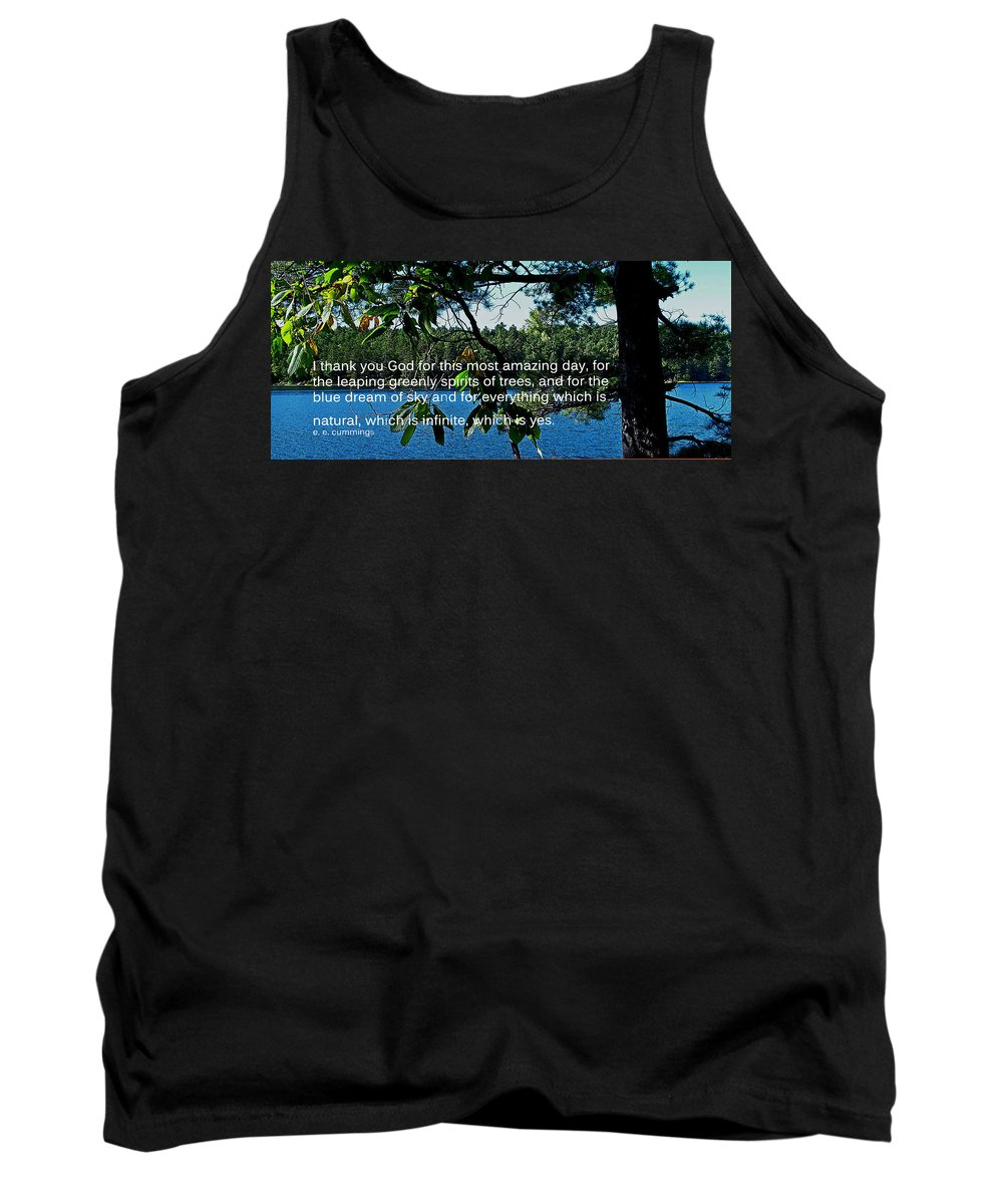 Poster Tank Top featuring the photograph Natural by Ian MacDonald