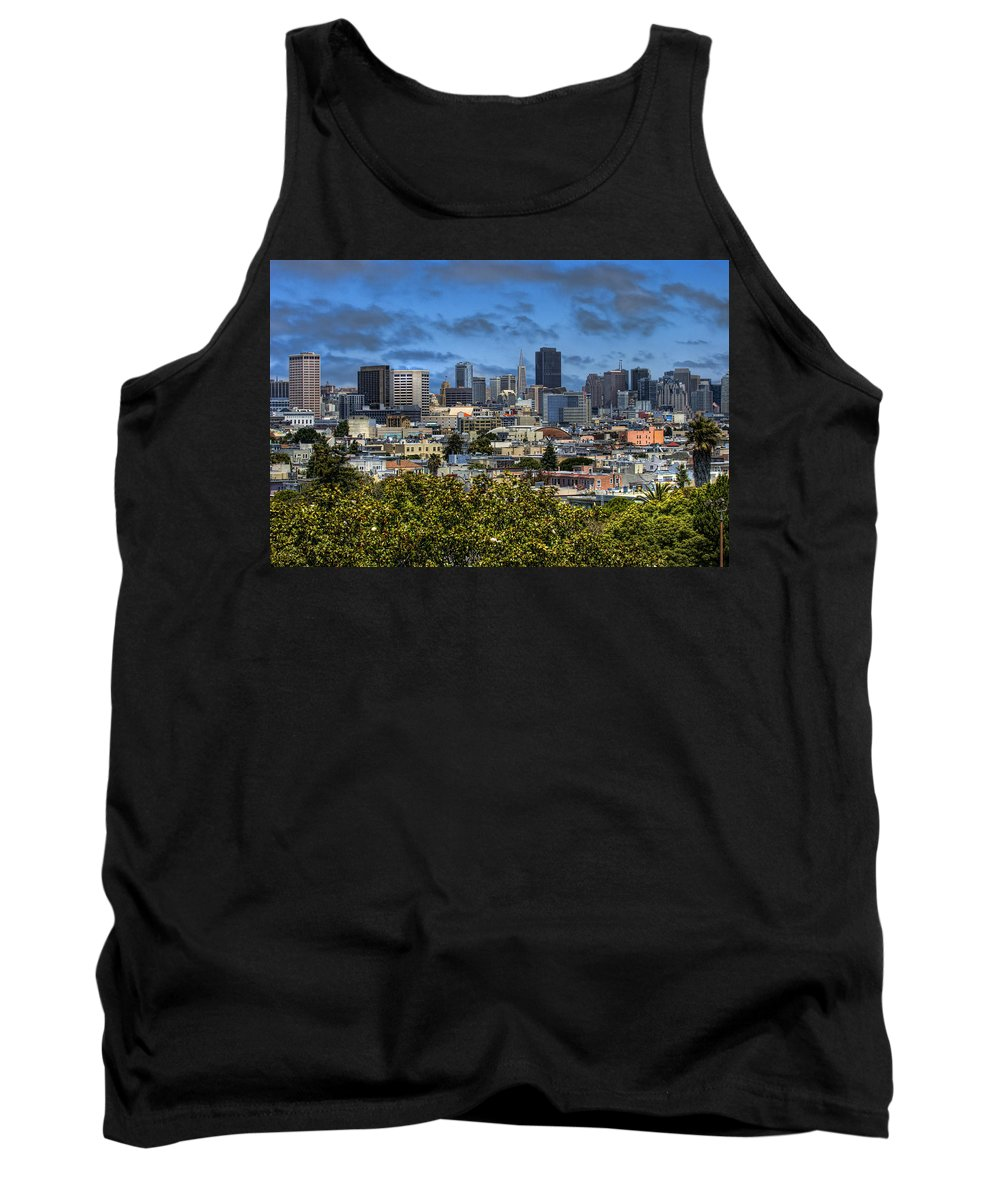 San Francisco Tank Top featuring the photograph San Francisco by Jay Hooker