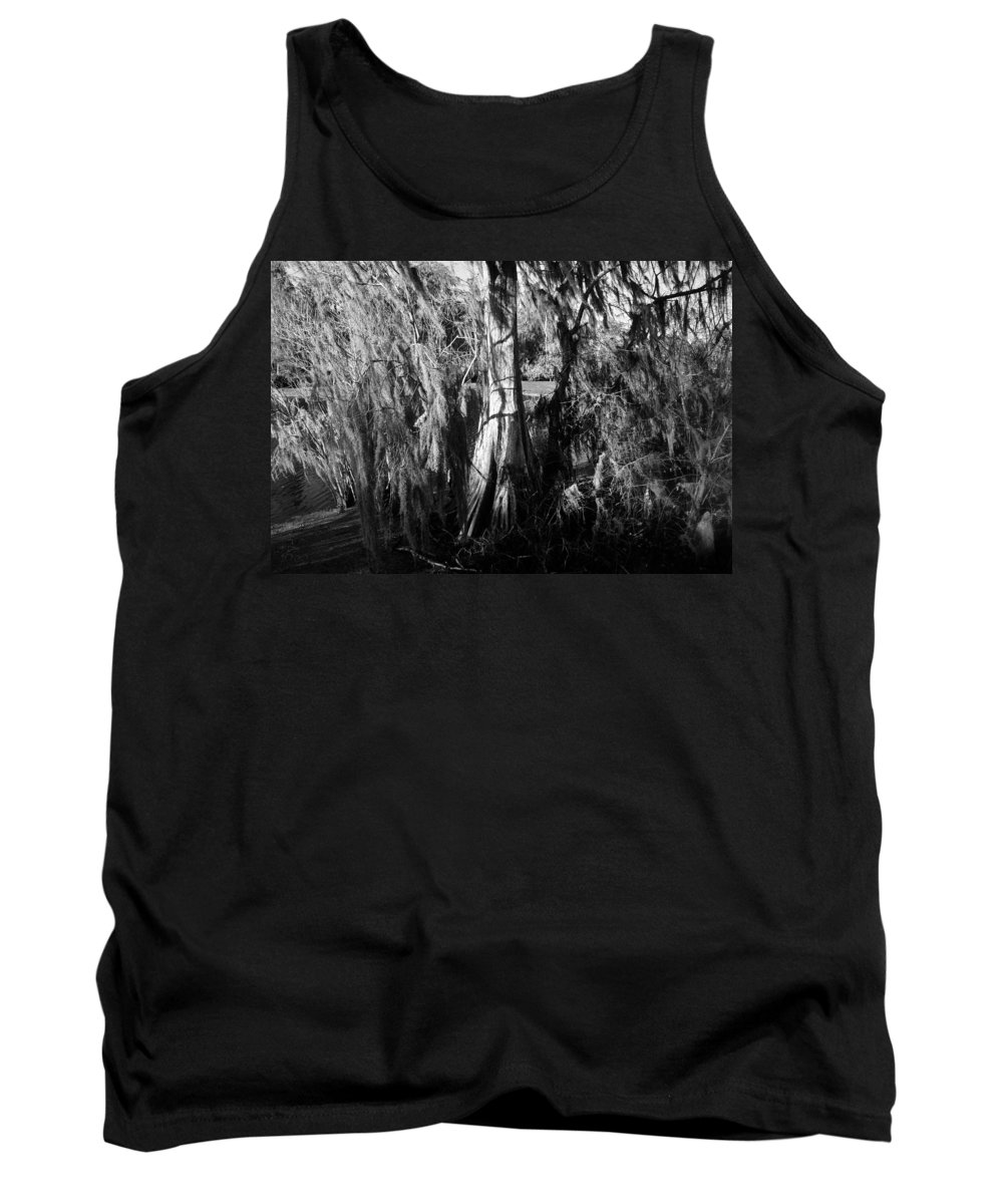 Fine Art Photography Tank Top featuring the photograph Spanish Moss by David Lee Thompson