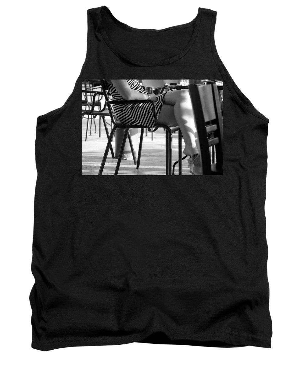 Women Tank Top featuring the photograph Stripped Dress by Rob Hans