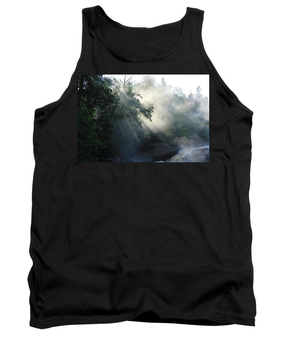 Fog Tank Top featuring the photograph Sun Dance by Joi Electa