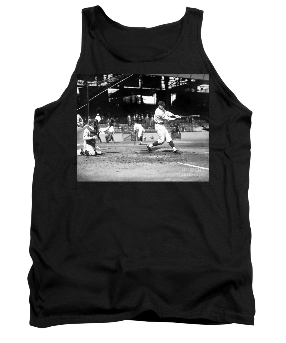 1922 Tank Top featuring the photograph Walter Perry Johnson by Granger