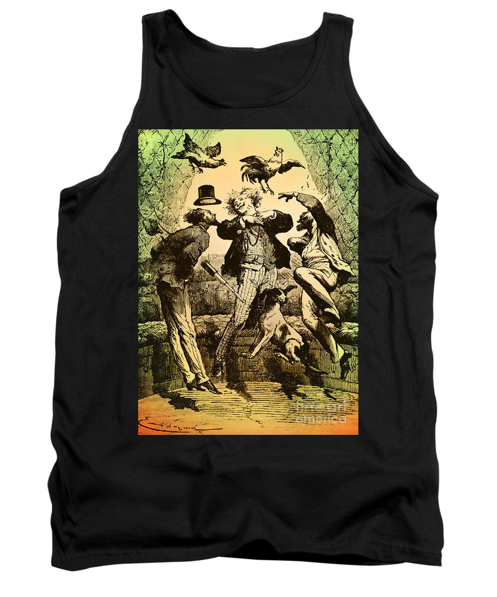 Space Tank Top featuring the photograph Weightlessness, 19th Century by Omikron