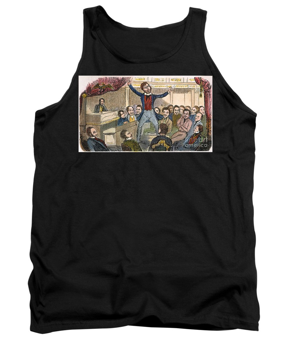 19th Century Tank Top featuring the photograph Davy Crockett (1786-1836) by Granger