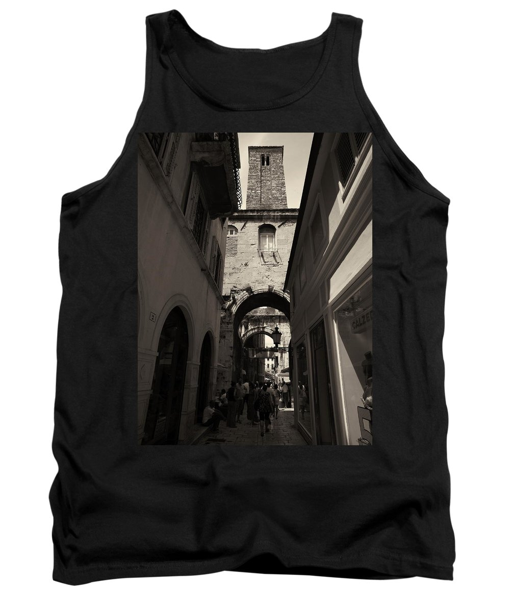 2012 Tank Top featuring the photograph Split Old Town by Jouko Lehto