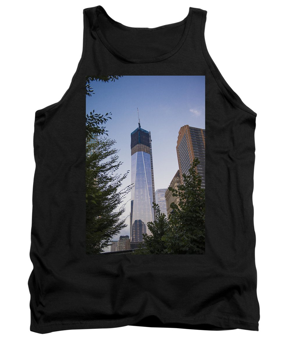 Battery Park City Tank Top featuring the photograph View From Battery Park City by Theodore Jones