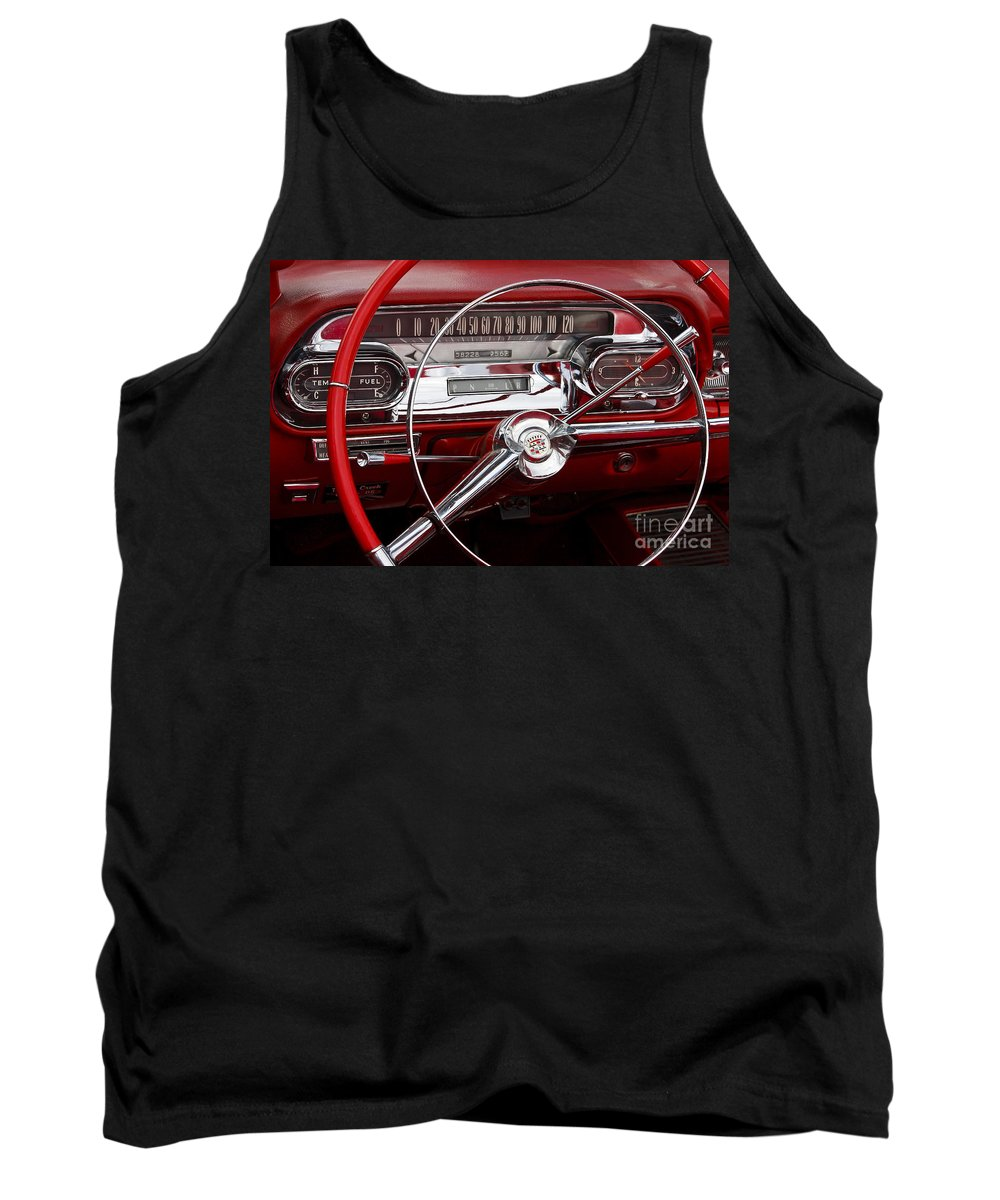 Classic Tank Top featuring the photograph 1957 Dash by Dennis Hedberg