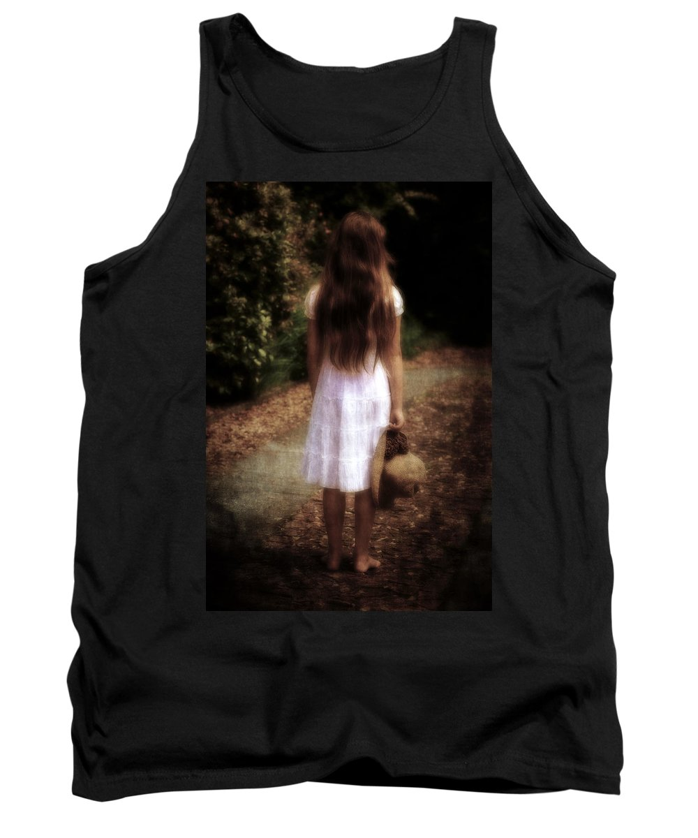 Girl Tank Top featuring the photograph Farewell by Joana Kruse