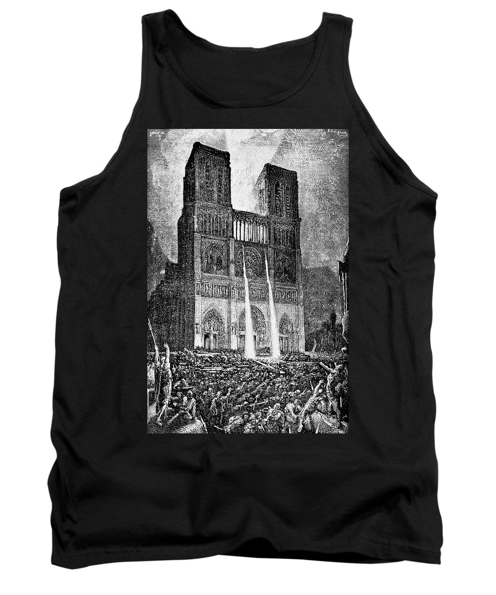 1831 Tank Top featuring the photograph Hunchback Of Notre Dame by Granger